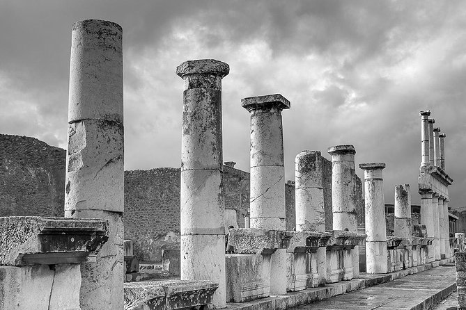 Pompeii and Herculaneum Day Tour - History with Guide&Lunch from Naples