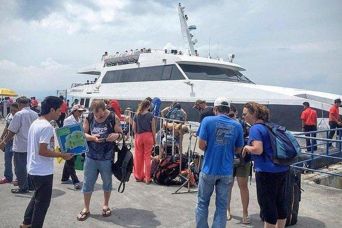 Depart from Thong Sala Pier on Koh Phangan