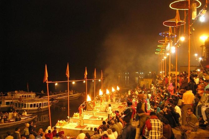 Best of Varanasi, full day tour with Sunrise boat ride and evening aarti.