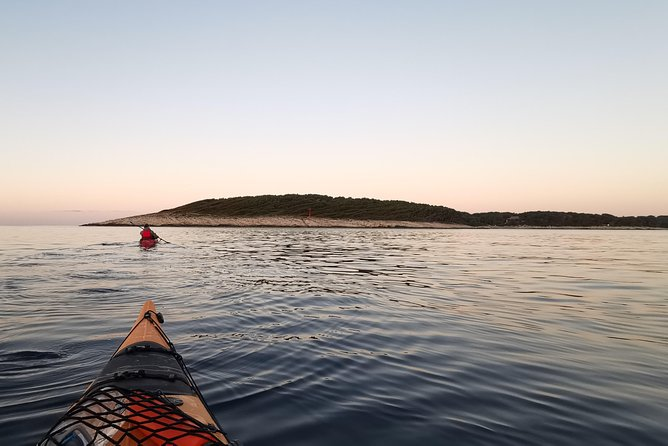 Sunset Sea Kayaking Tour From Hvar To Pakleni Islands