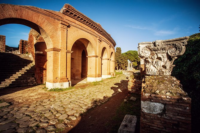 Kid-Friendly Ancient Ostia Private Tour w Hotel Pick-up & Drop-off from/to Rome