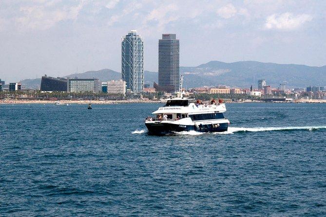 Sightseeing 90-minute Cruise of Barcelona Skyline