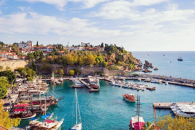 Antalya Old town, Waterfall and Cable Car Trip Incld Lunch