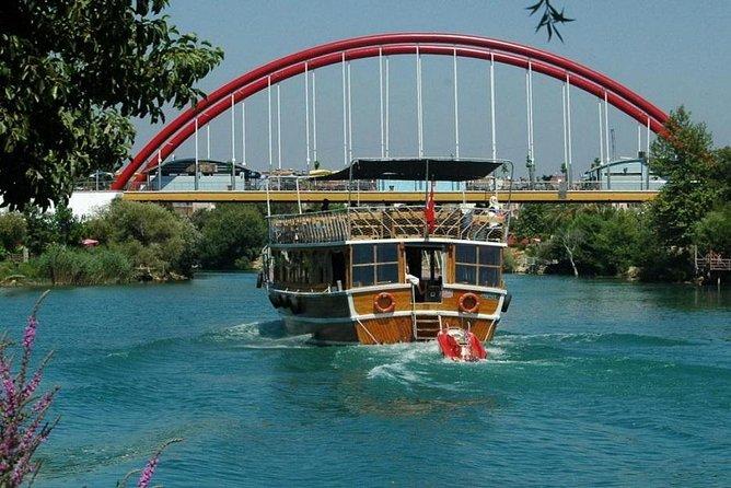Manavgat Boat and Market from Antalya