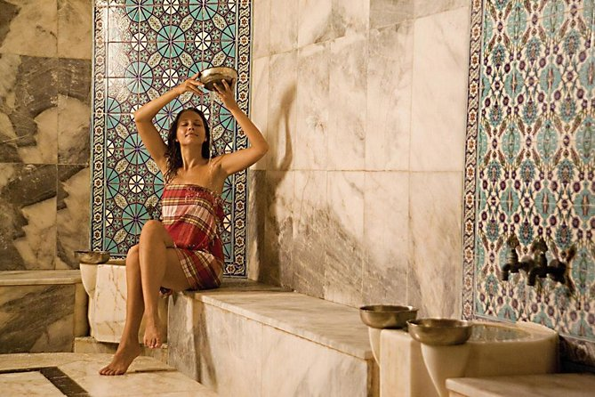 Turkish Bath with Oil Massage from Side