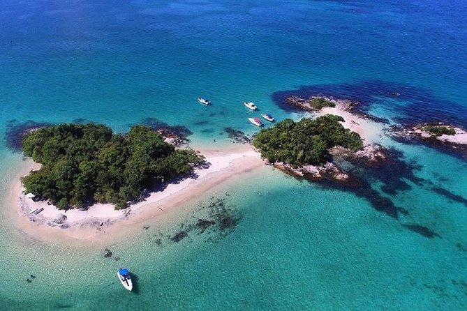 Angra dos Reis Island Hopping Speedboat Tour from Ilha Grande