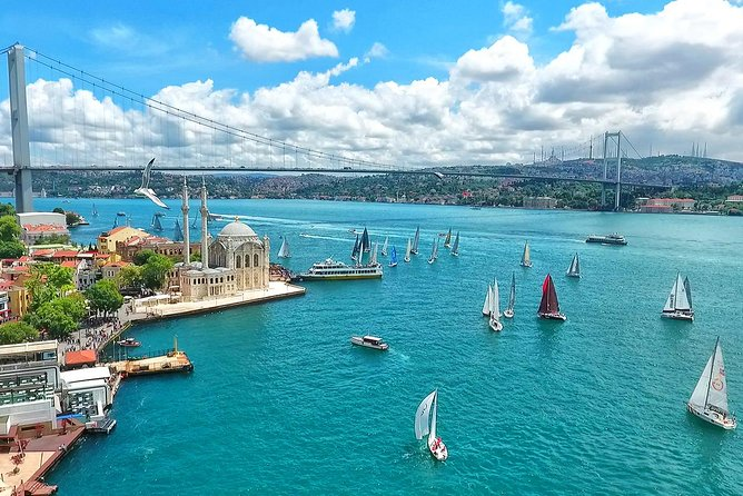 90-Minute Istanbul Bosphorus Cruise, Free Refreshment and Audio Guide App