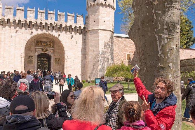 Excursão histórica ao Museu do Palácio de Topkapi