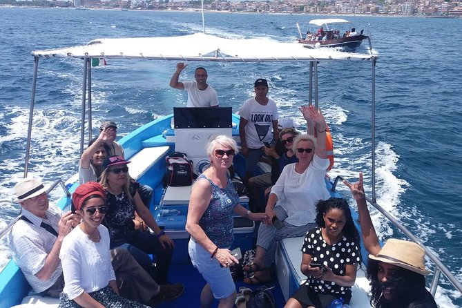 boat trips Giardini Naxos Taormina, Isola Bella, Blue Grotto