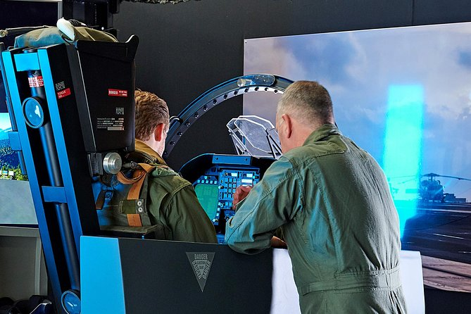 60 Min Full Motion F-18 Simulator Session