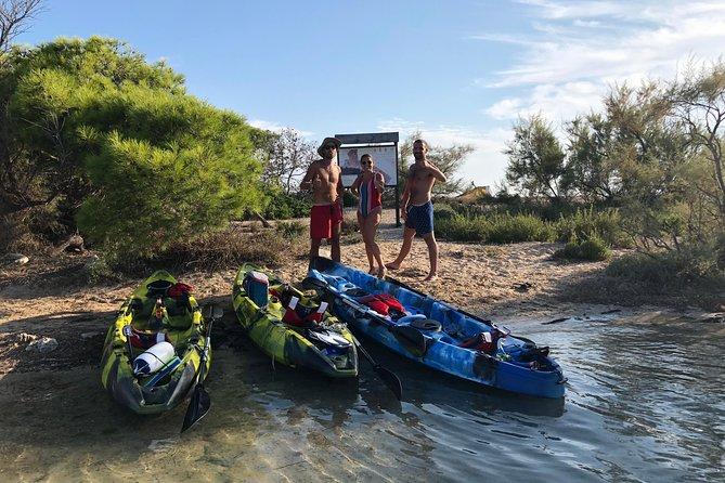 Kayak excursion: Porto Cesareo, the Marine Protected Area and the Isola dei Conigli