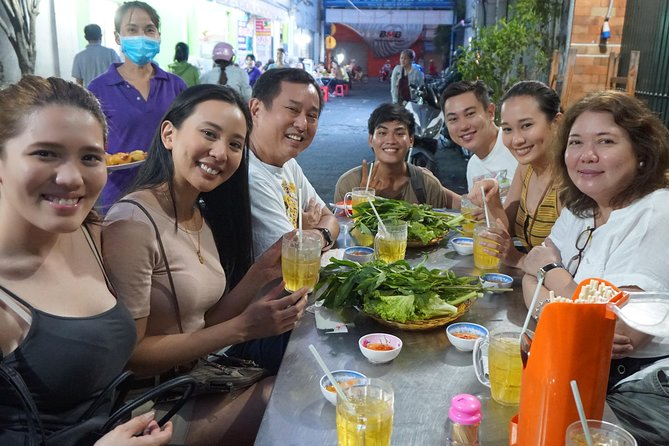 Private Street Food Tour on Motorbikes