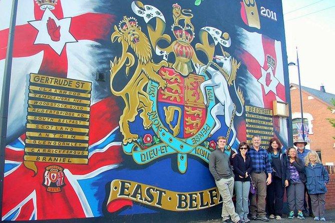 3 hour Original Black Taxi Political, Mural, Peacewalls History Tour of Belfast