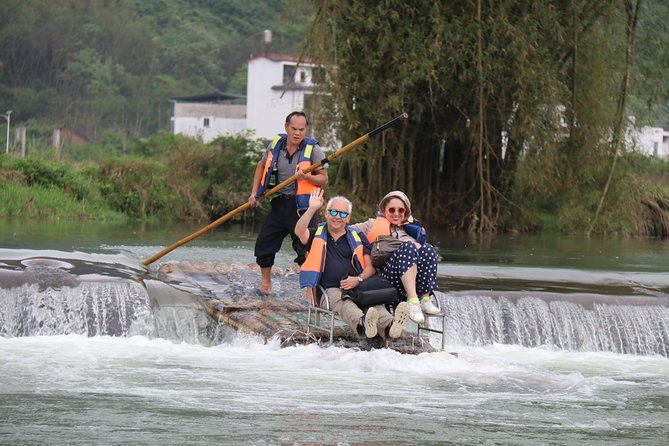 Half-Day Yangshuo Yulong bamboo boat & Countryside short Hiking Private Day Tour