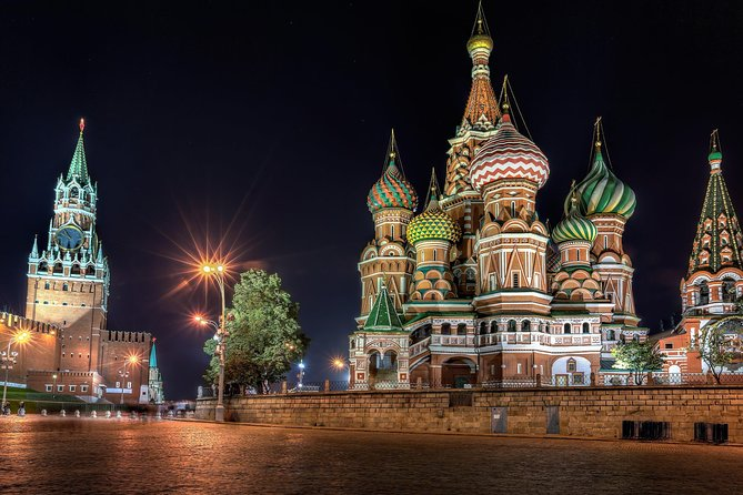 Moscow: Saint Basil's Cathedral and Red Square