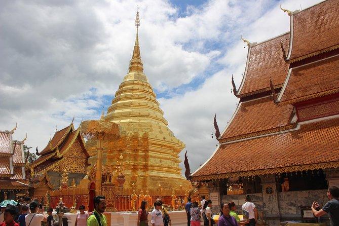 DON'T miss this halfday tour! Doi suthep temple + Hmong village - must visit!!