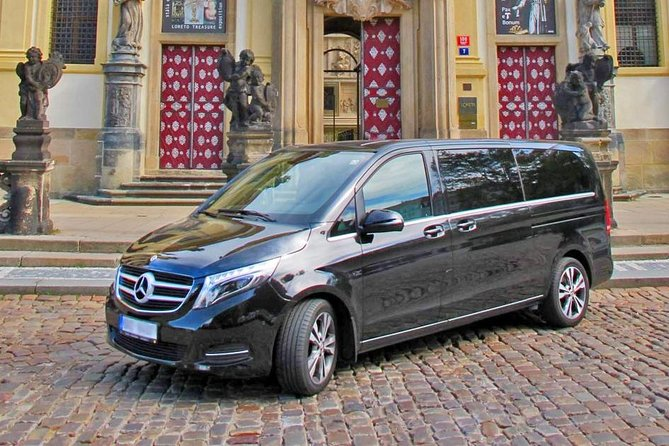 Your transportation from Prague: Mercedes-Benz V-class: for 1-6 people