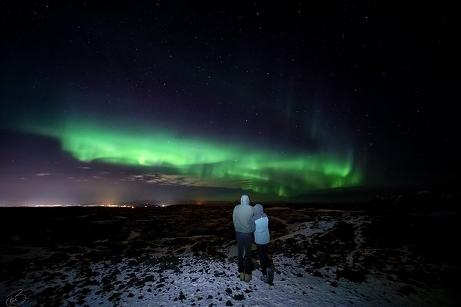PRIVATE Northern light photo infused tour photo 4
