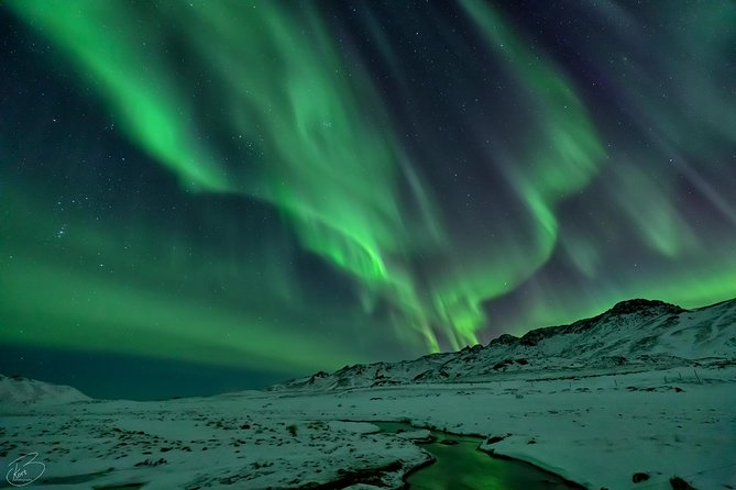 PRIVATE Northern light photo infused tour photo 3
