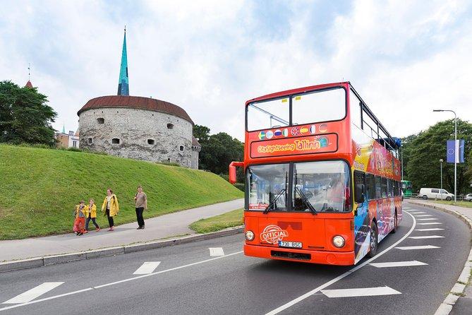 Tallinn Shore Excursion: City Sightseeing Tallinn Hop-On Hop-Off Bus Tour