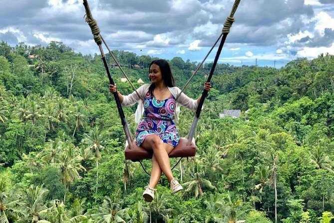 Bali Jungle Swing Experience and Kintamani Volcano Tour