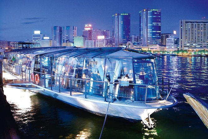 Luxury Bateaux Dubai Dinner Cruise With Private Transfers