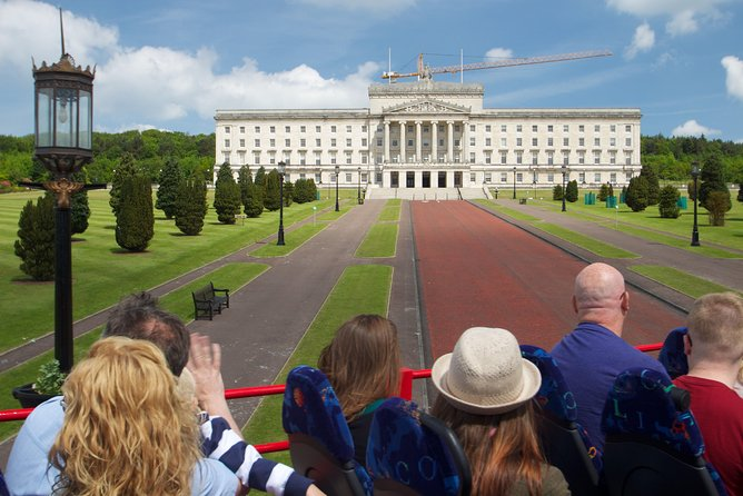 Belfast Shore Excursion: City Sightseeing Hop-On Hop-Off Bus Tour