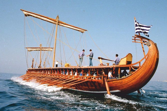 Row on an Ancient Greek warship and experience its glorious Naval History