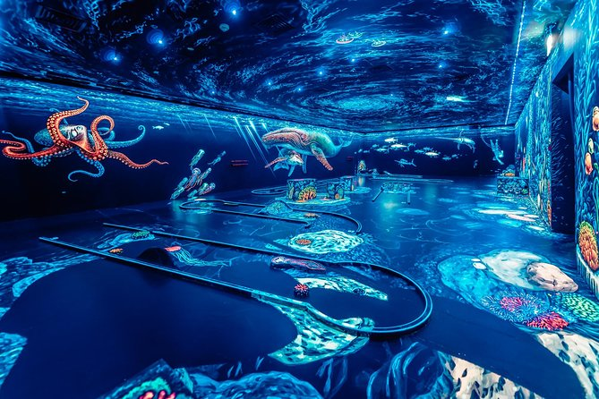 3d Blacklight Minigolf - Jbr / Marina Dubai