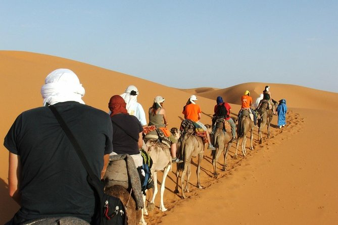 5 Days trip from FEZ to ESSAOUIRA spending a night in MERZOUGA and TODRA GORGES