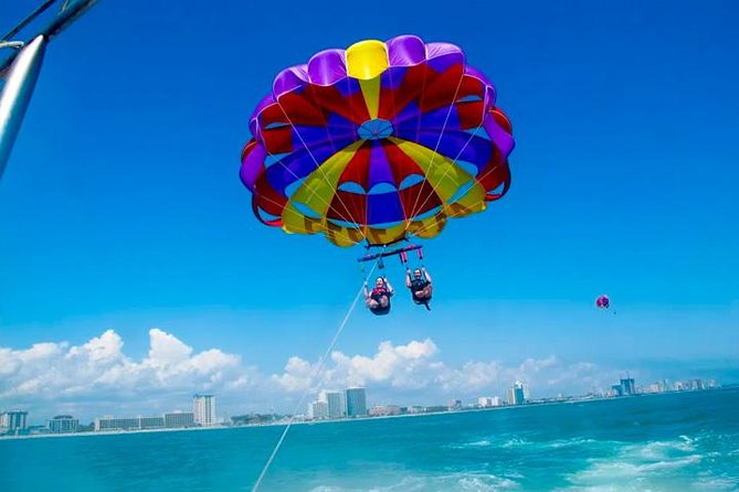 Ride Swim & Fly Day Trip in Cancun with Transportation