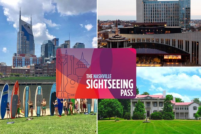 The Nashville Sightseeing Flex Pass: 20 Attractions + Hop-On/Hop-Off Bus
