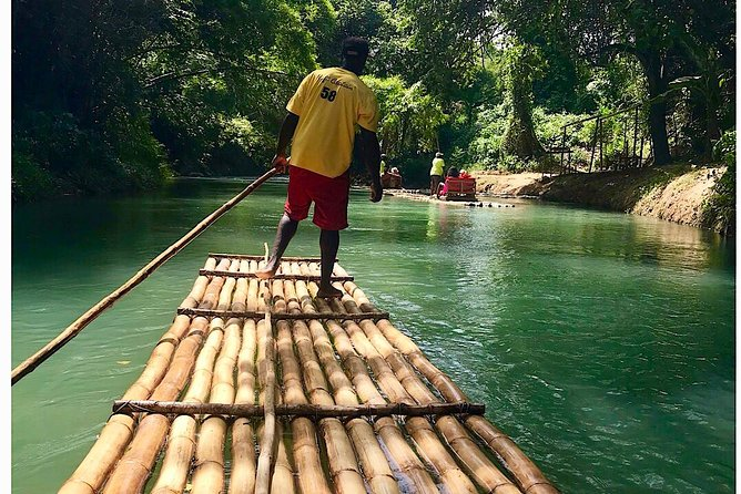 The Ultimate Relaxation of Martha Brae Bamboo Rafting (Private Tour)