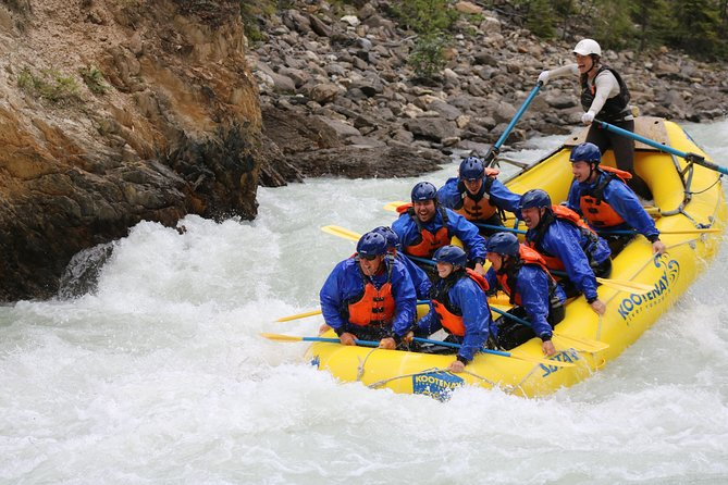 Extreme Whitewater Rafting on Kicking Horse River photo 2