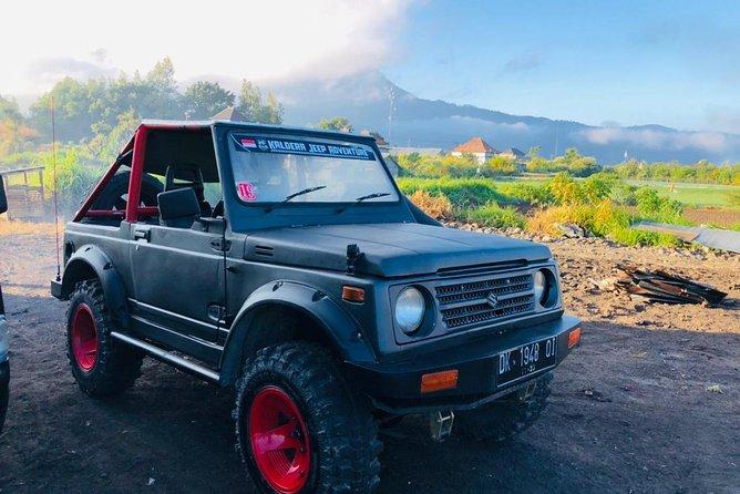 Bali Jeep Volcano Tour