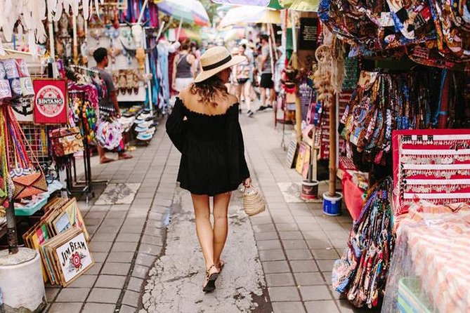 Bali Traditional Shopping Tour to Themed-Markets with Private Transport & Guide