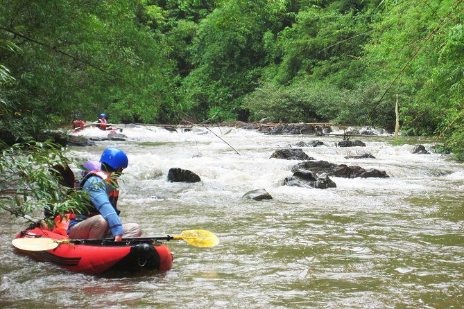 1 day kayaking Nam Ha River - Funny, Exiting and Challenge in Luang Namtha
