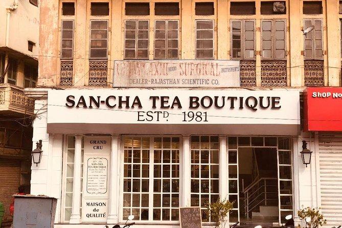Tea Tasting Session at India's oldest tea boutique : Sancha Tea Boutique
