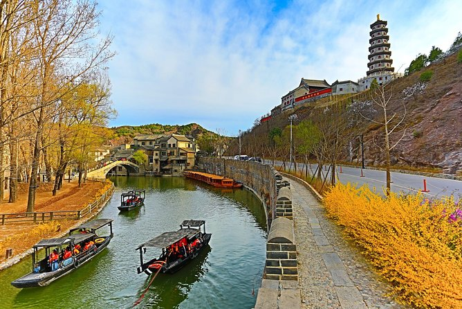Beijing Great Wall and Guibei Water Town Tour with 1 Night View Room Hotel