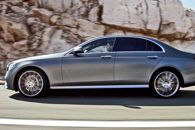 Private Transfer from Prague City to Budapest City by Business Car