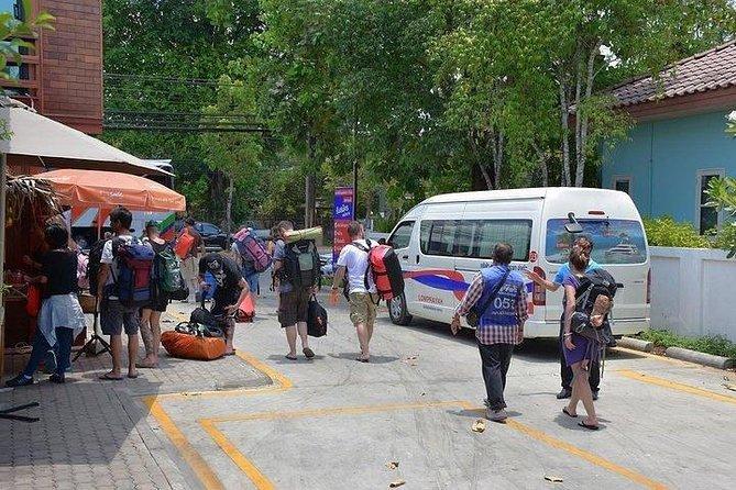 Service de navette depuis votre hôtel à Ao Nang et dans la ville de Krabi