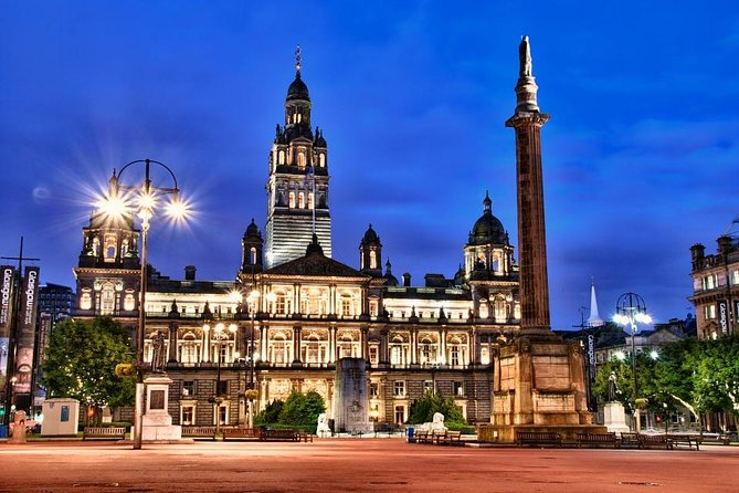 Departure Private Transfer Glasgow City to Glasgow GLA Airport by Business Car