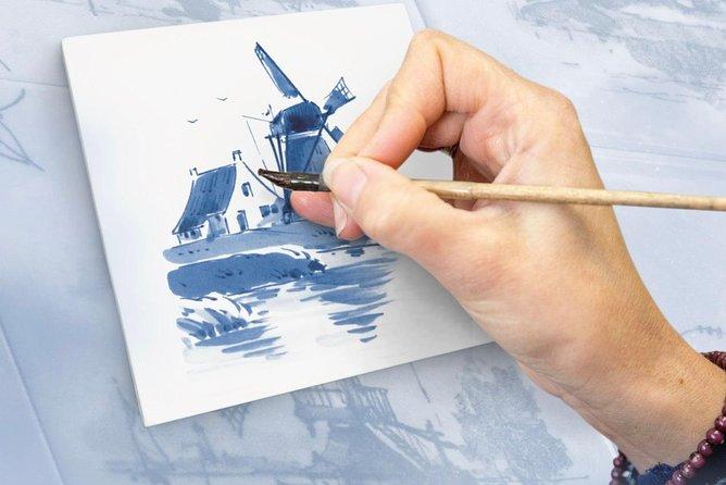 Workshop 'Paint your own Delft Blue Tile!'