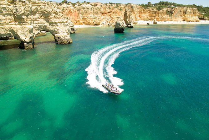 Benagil Cave and Marinha Beach Boat Tour from Portimao