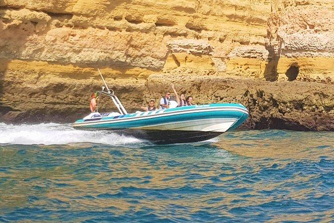 Benagil Cave and Marinha Beach Boat Tour from Portimao
