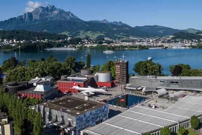 Billet d'entrée du musée suisse des transports de Lucerne