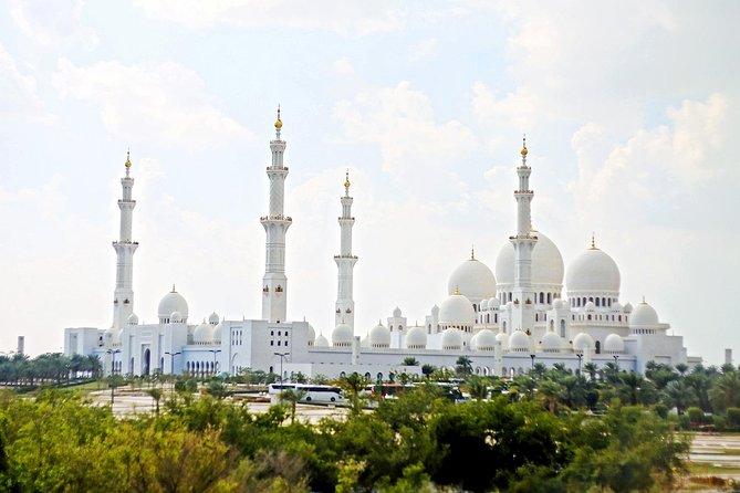 Sheikh Zayed Grand Mosque Tour From Dubai