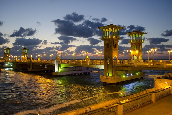 Full Day Guided Tour to Alexandria with Lunch from Cairo by Car