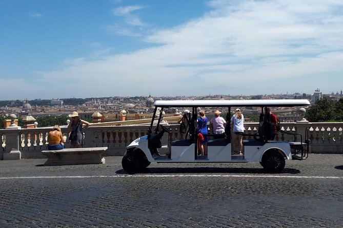Rome Private City Center Tour By Golf Cart