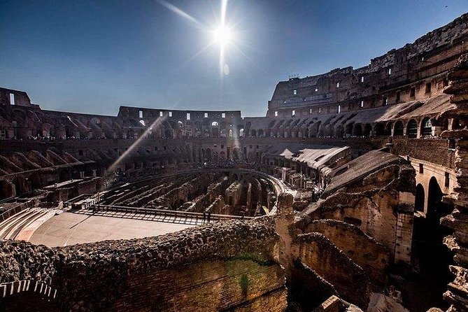 Exclusive Colosseum Gladiators Arena Ancient Rome guided Tour VIP Entry Tickets photo 7